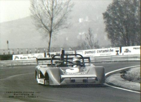 Formule 3 tým Edilgru rok 1981